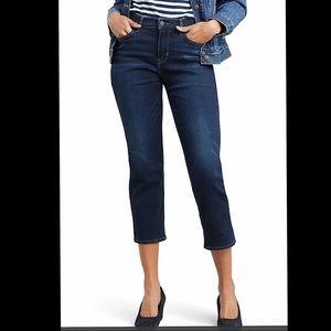 NWT LEVI'S Curvy Crop Straight Leg Jeans